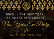 Chase Restaurant Santa Barbara NYE Party